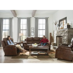 Patton Leather Reclining Sofa Group