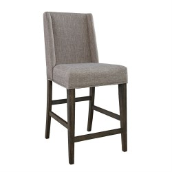 Double Bridge Upholstered Counter Chair (RTA)