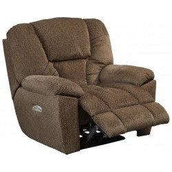 Owens Power Lay Flat Recliner w/Power Headrest Feature